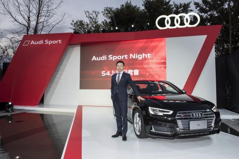 ▲李昌益(Calvin Lee)先生自2月15日起正式接任台灣奧迪銷售處長,負責新車銷售及Audi Approved :plus奧迪嚴選中古車相關事務,直接向台灣奧迪總裁Ryan Searle報告