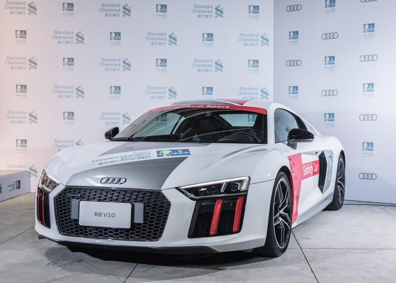 即將於2月12日起跑的臺北渣打公益馬拉松,台灣奧迪身為賽事頂級贊助商,出動Audi Sport旗下旗艦超跑Audi R8和跑者一同起跑,為現場3萬名跑者喝采,帶來不同凡響的馬拉松體驗!