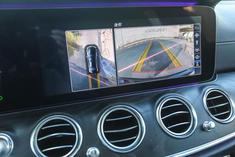 ▲智能停車輔助含360度環景攝影也為選配項目。