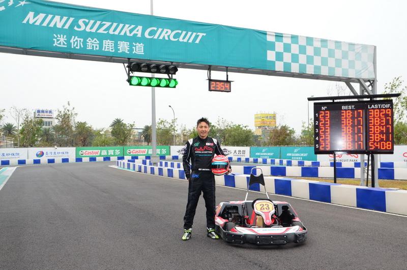 身為日本三重縣民 也是現任Super GT車手松田次生對於鈴鹿賽道相當熟悉