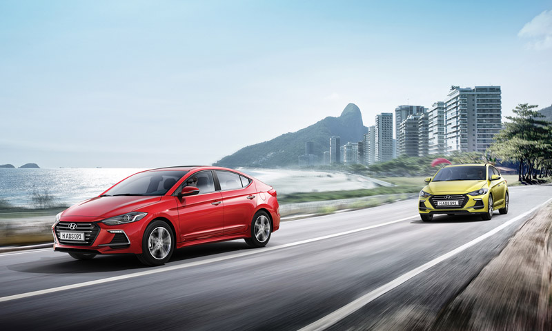 全新Elantra將以全新面貌挑戰台灣最激烈的國產中型房車市場,目前估計台灣市場將導入1.6升、2.0升自然進氣汽油引擎。