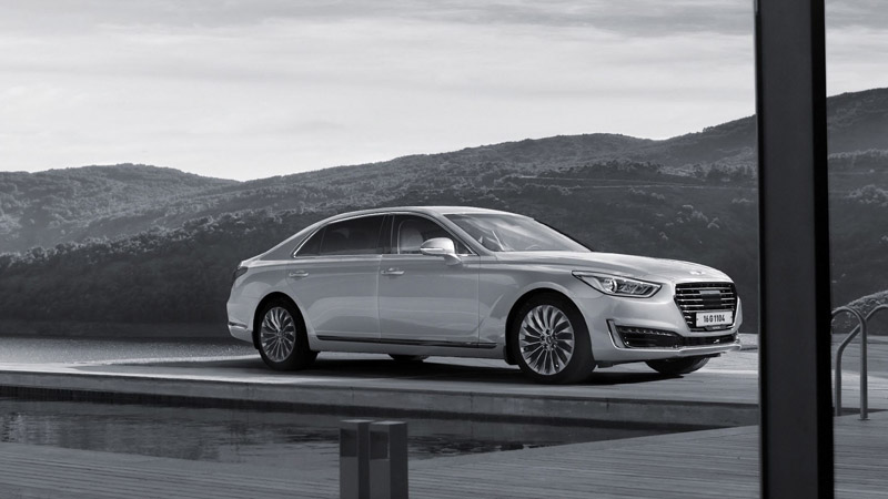G90就是直指A8、7-Series與S-Class等豪華大型房車而來,宣示品牌實力意義即為濃厚。