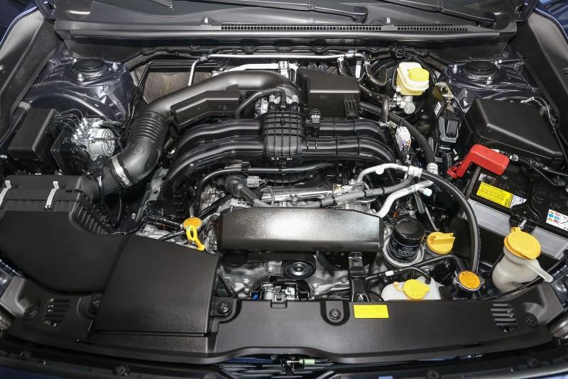 全新Impreza搭載全新1.6升Boxer水平對臥四缸自然進氣引擎,可輸出114ps最大馬力和15.3kgm峰值扭力。
