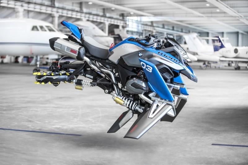 怎麼看都像動漫裡才有的未來科幻個人移動載具
