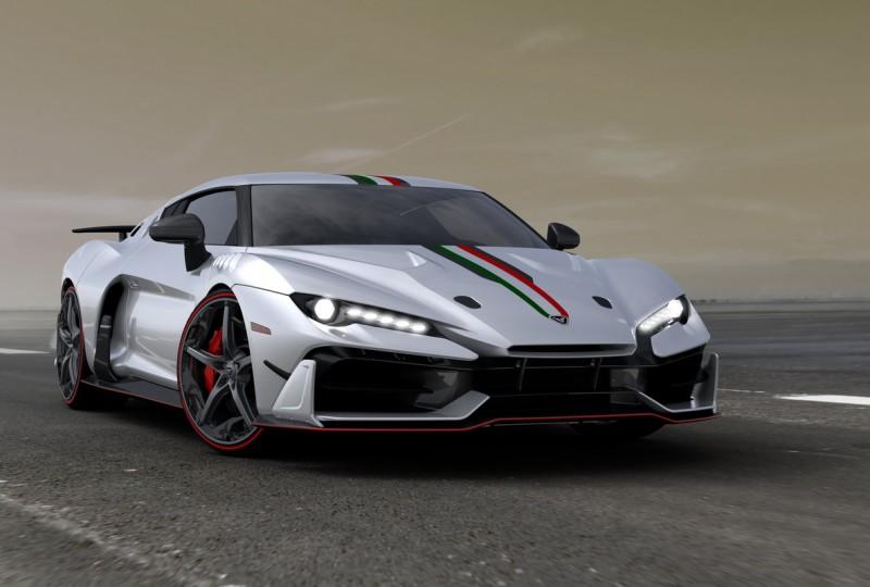 碳纖維車身,鋁合金加碳纖維底盤搭載V10引擎,IAS 1比起同鄉烈馬、蠻牛更稀有