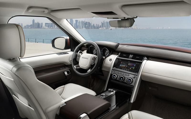 All-New Discovery內裝陳設將延續Land Rover一貫的簡約奢華風格。