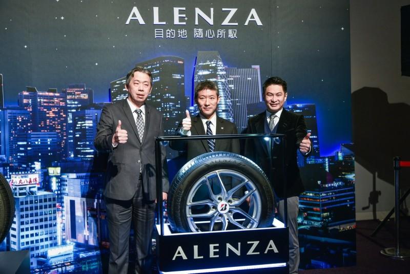 旗艦休旅胎ALENZA由知名車手林帛亨出席代言