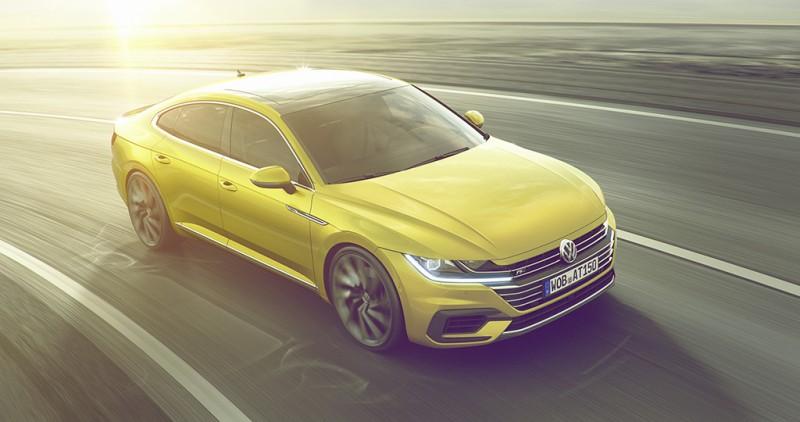 Volkswagen Arteon R-Line擁有比標準版更兇猛的下氣霸造型