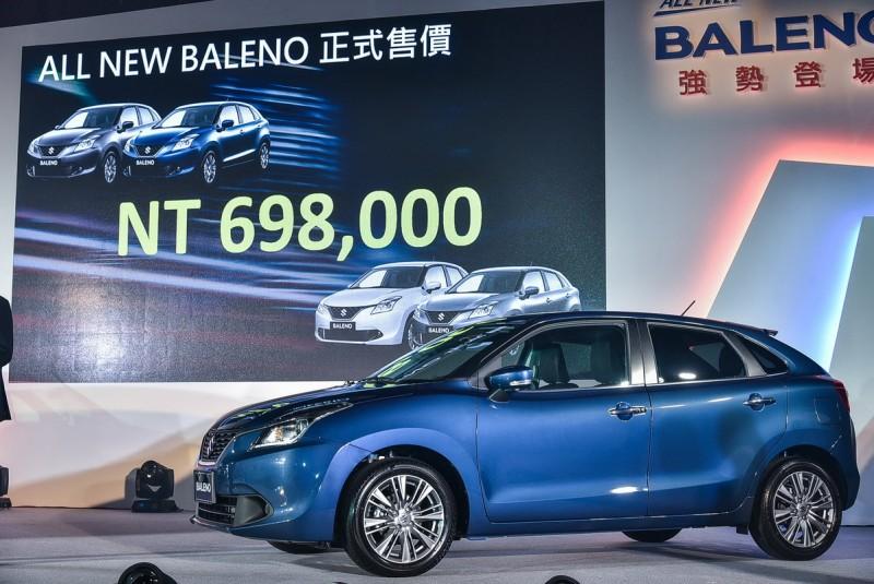 ▲守住70萬門檻, Baleno售價定的漂亮。