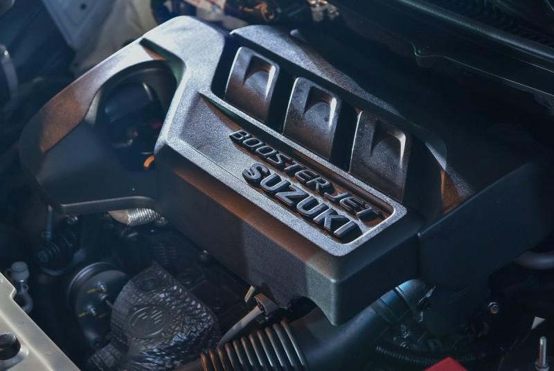 ▲1.0L Boostjet渦輪增壓引擎的輕量化高輸出設計讓Baleno平均油耗擁有高達18.2km/L。