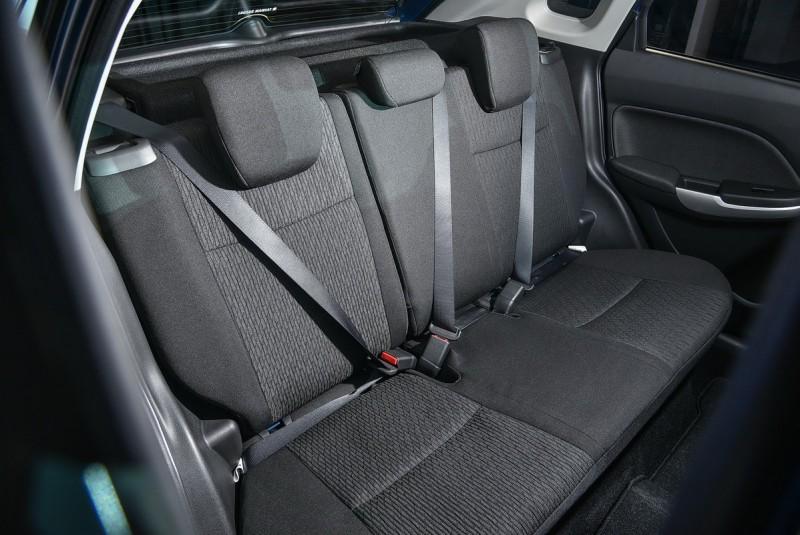 全車座椅的包覆性與支撐性都在水準之上。