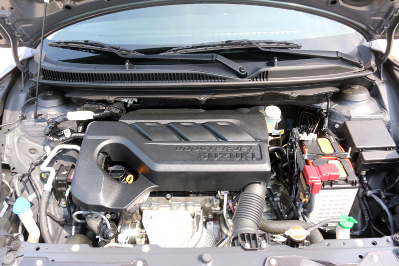 Baleno搭載的BoosterJet系列1.0升渦輪增壓三汽缸引擎,整體表現超乎想像得好,可說是當前最好的三汽缸引擎。