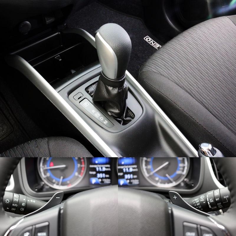 Baleno配置了六速手自排變速系統,換檔與動力銜接順暢,還附有方向盤換檔撥片,只是撥片的造型與設置位置有點不太順手。