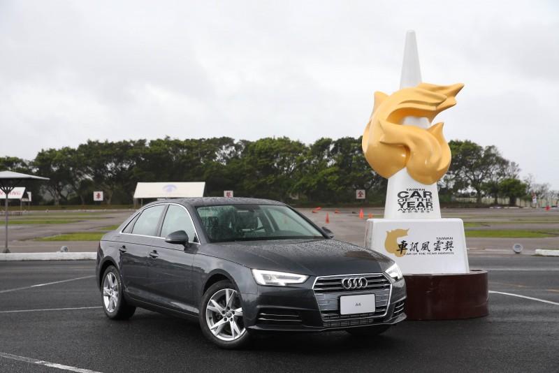 國內車壇年度盛事「車訊風雲獎」已圓滿落幕,經由眾多評審評選,Audi A4以其全新TFSI汽油動力編成,搭載先進前衛的Audi Virtual Cockpit全數位虛擬座艙,並以洗鍊簡約的設計語彙和寬敞的空間機能運用取得評審們的一致青睞,一舉奪得「最佳進口中大型車」獎項,展現卓越超煩的產品實力。