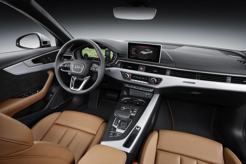 The new A4 / A4 Avant車室座艙空間展現原廠工程智慧的結晶,獨一無二的12.3吋Audi Virtual Cockpit全數位虛擬座艙,更讓駕駛者得以近距離體驗最先進而強大的移動資訊平台。