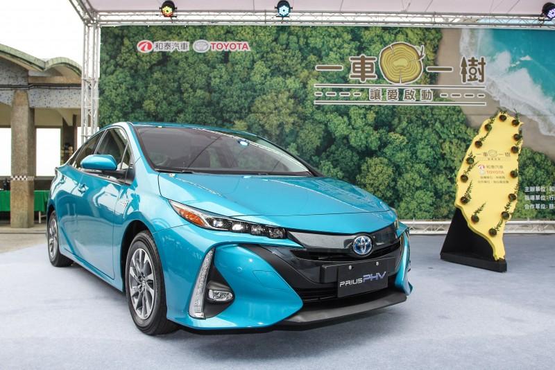 Prius PHV為家族中最新可插電混合動力,將於4月下旬發表上市