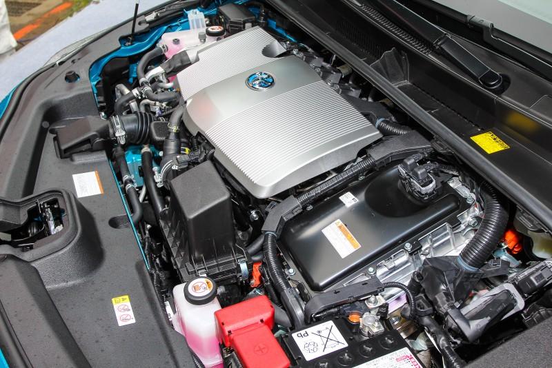 引擎加上馬達的混合動力系統