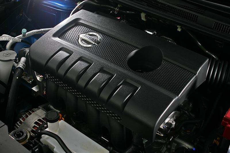1.6升自然進氣引擎可輸出115匹以及15.7公斤米峰值動能。
