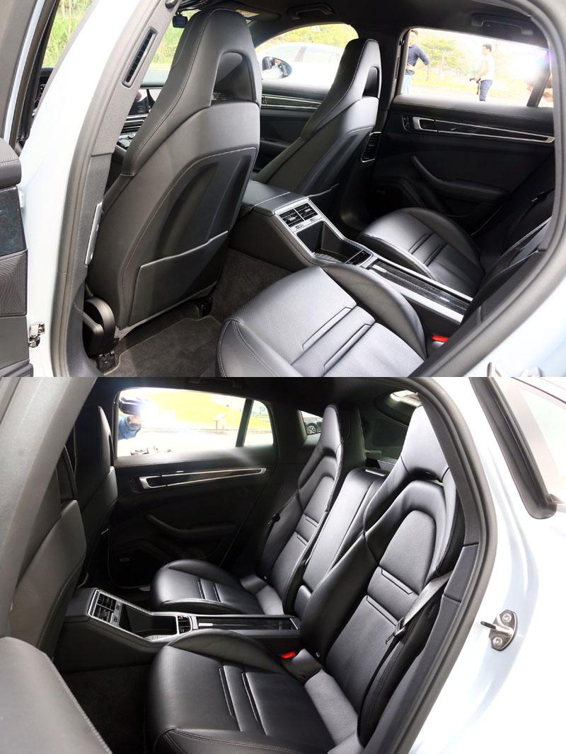 Panamera自第一代車型開始就有著優異的空間表現,後座若位選擇獨立空調,操作介面則會保留成置物盒。