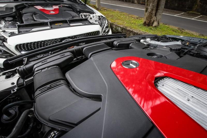 C43 4Matic與E43 4Matic搭載相同的3.0升V6增壓引擎,考量車身重量,輸出數值有所小幅差異。