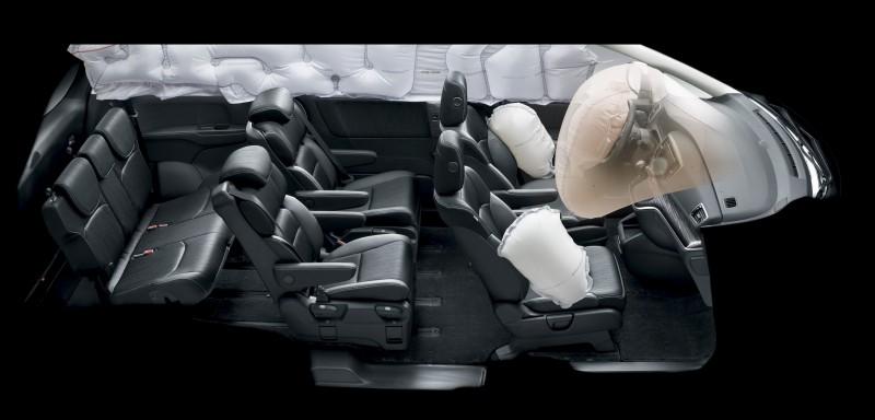 Honda ODYSSEY更具備超越同級車的空間機能、先進科技、極致安全、優越的動力及節能優勢