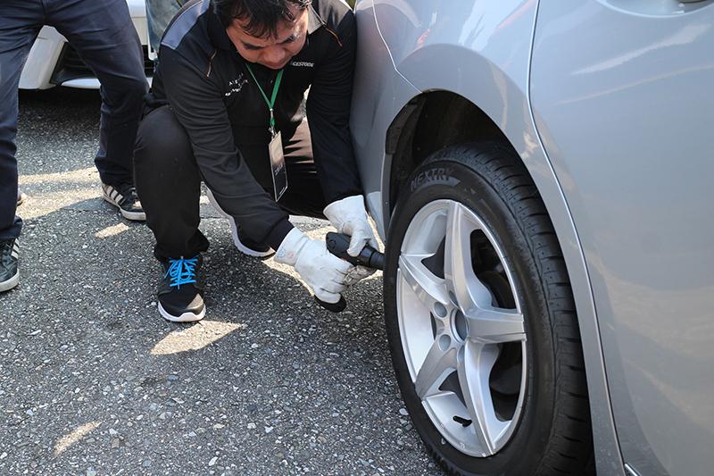 換來鑽破傳統輪胎吧耶耶耶!