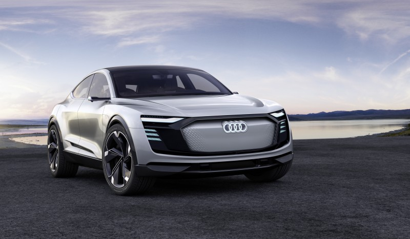 Audi e-tron Sportback concept 上海車展全球首發,AUDI AG 於上海國際車展發表品牌電動車另一新里程碑,整合照明科技與造車設計再創新巔峰