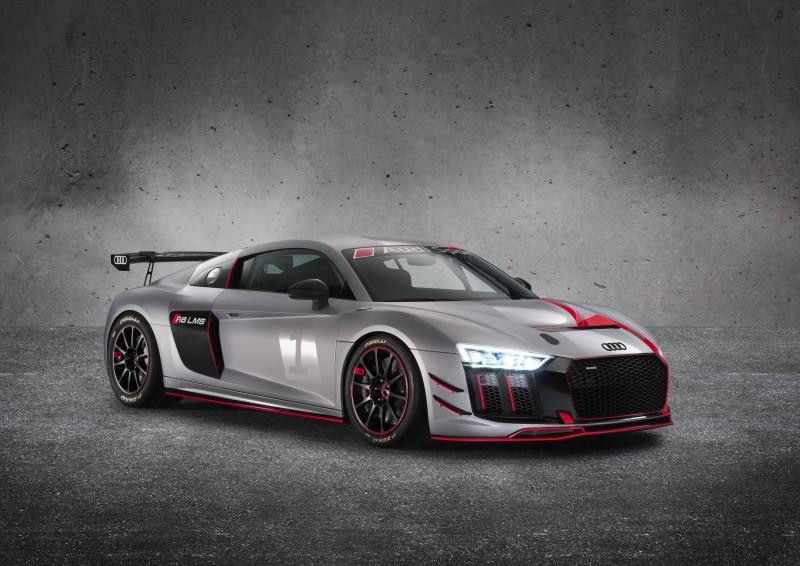 Audi Sport GmbH分別於去年9月的巴黎車展發表TCR規格的全新RS 3 LMS賽車,加上本月在紐約車展發表GT4規格的R8 LMS GT4賽車,在在顯示Audi一直以來持續為全球的專業賽車隊伍提供最前衛的賽道科技。