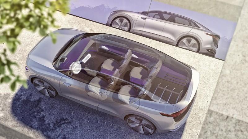 I.D. CROZZ概念車擁有比Tiguan Allspace更為緊湊的跑旅外觀,卻同時兼具與其相符的寬廣車室空間