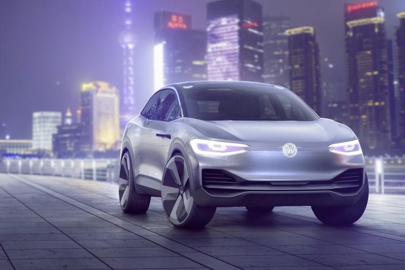 Volkswagen於2017上海車展推出純電動跨界跑旅:Volkswagen I.D. CROZZ概念車