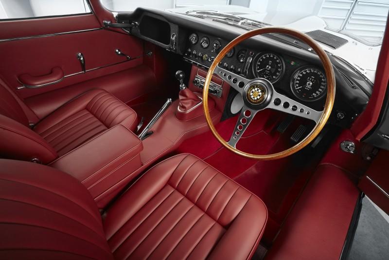 Jaguar E-TYPE 的Reborn 工程完全由「Jaguar Classic」部門精準操刀,依據 1960 年代的原始規格專屬打造。