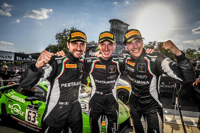 Grasser Racing Team車手陣容由Mirko Bortolotti、Christian Engelhart以及新成員Andrea Caldarelli擔當。