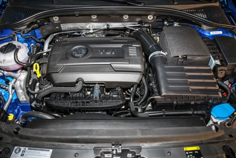 1.8 TSI 4X4動力車型具備180hp/28.0kgm輸出,0~100km/h加速為7.5秒。