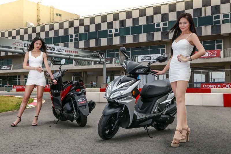 選擇於賽車場舉辦媒體試駕活動,展現出Kymco對於全新Racing S車系的動態身手信心。