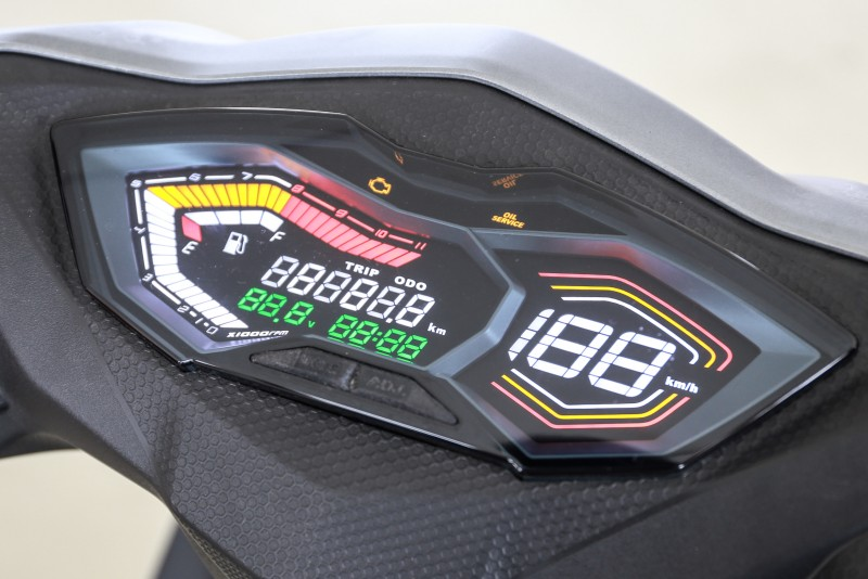125車型也同樣為液晶儀表設計。
