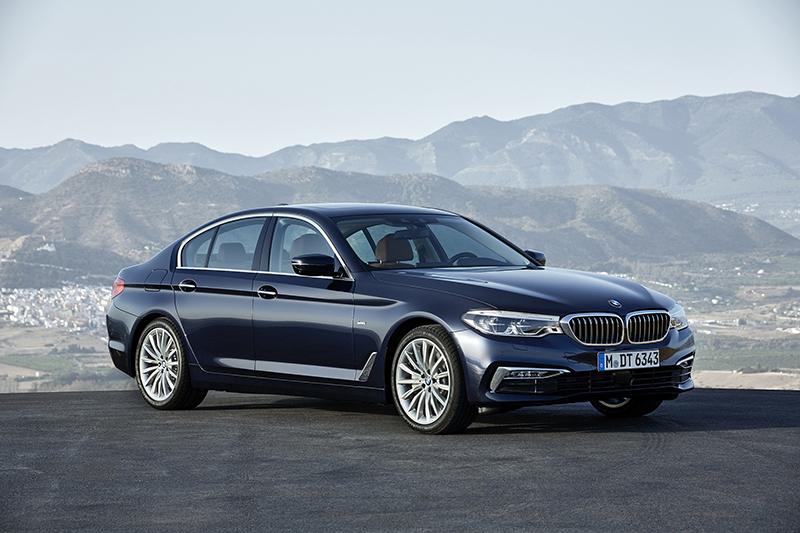 全新BMW 520i搭載Luxury Line風格套件。