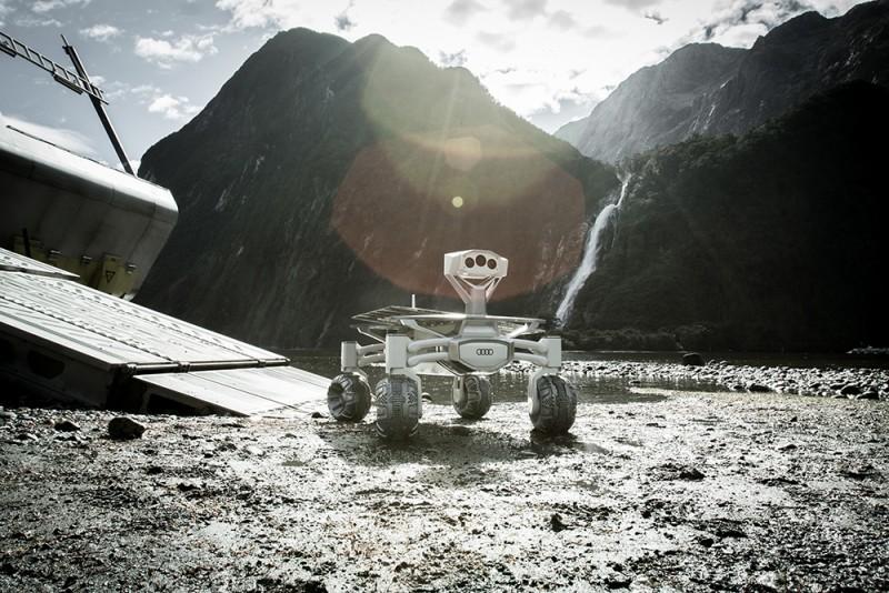 奧迪贊助二十世紀福斯旗下,由鬼才導演雷利史考特回歸執導的《異形:聖約》,將Audi太空計畫「Mission to the Moon」中的真實太空探測車Audi Lunar quattro借給劇組作為電影拍攝使用。