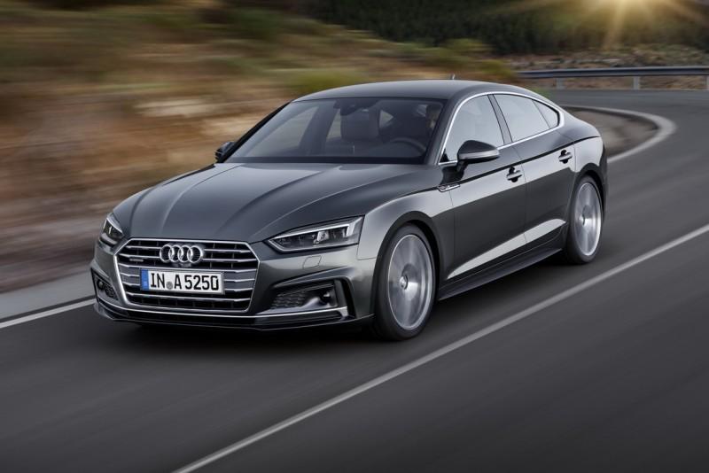全新世代Audi A5橫掃車壇,德國《Auto Bild》雜誌「Golden Steering Wheel金舵獎」、英國《What Car?》 雜誌「Car of the Year年度風雲車大獎」以及德國權威汽車雜誌 《Zeitung》 雜誌「2016 Auto Trophy  – 最佳中型房車」等多項權威大獎,擁有絕美的線條及最具GT跑格的性能,與R8和TT並列為Audi旗下最具跑格的車型,堪稱是全球豪華房車市場上的巔峰之作