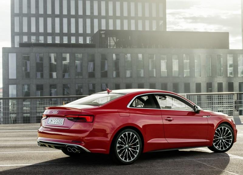 The new Audi A5也榮獲歐盟Euro NCAP 撞擊測試獲5星頂級評選之肯定,全新進化的Audi A5 車系即將於國內正式發表,以傲視同級對手之姿,並以完整豐富的配備水準和極具競爭力的價格,打造豪華轎跑車!