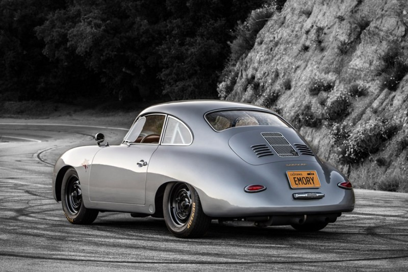 Porsche356的水滴型車體是經典「Fastback」設計最佳代表