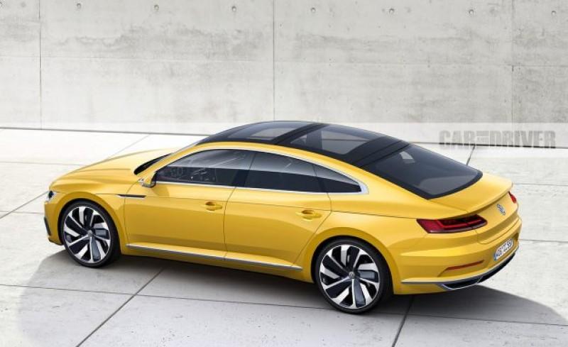 Arteon是過去VW四門Coupe始祖Passat CC的最新接班人,車頂線條趨近完美