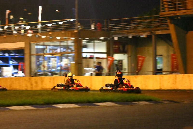 夜戰因天候較為涼爽,所以廣受參賽者喜愛。