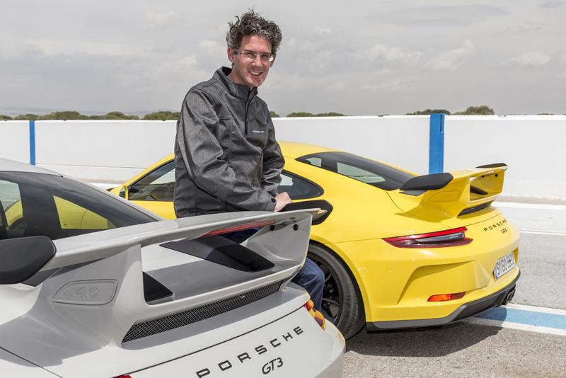 保時捷賽車運動及 GT 賽車部門副總裁 Frank-Steffen Walliser。