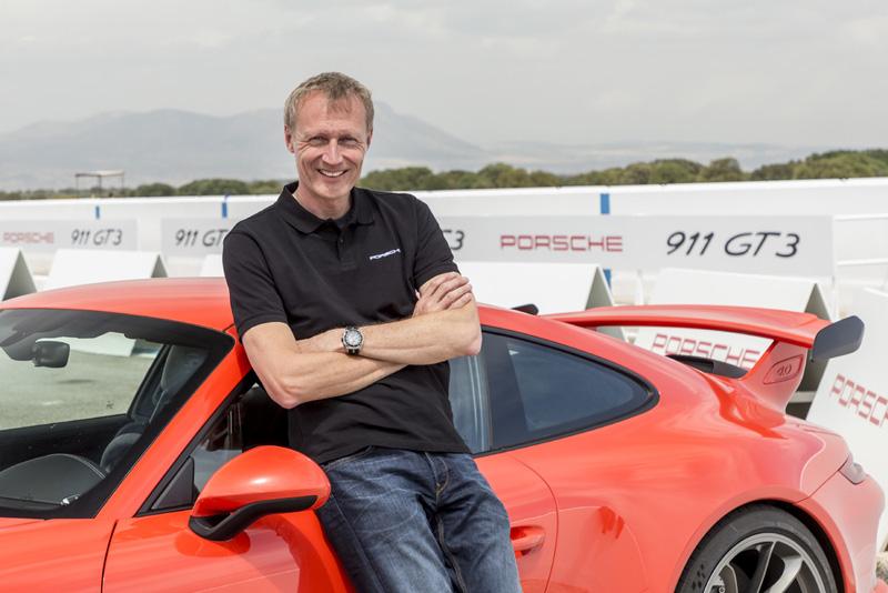 GT 產品線總監 Andreas Preuninger 。