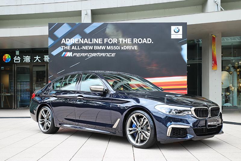 身為常規版BMW 5 Series中最頂級的車型,全新BMW M550i xDrive採用4.4升V型八缸汽油引擎,462匹最大馬力可在5,500轉時產生。