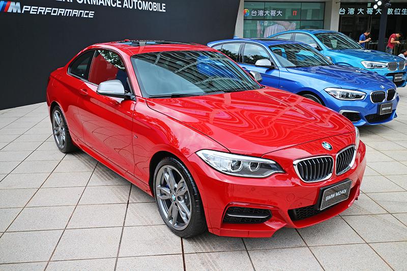 BMW M240i不僅瀟灑俊逸,而且性能強悍。