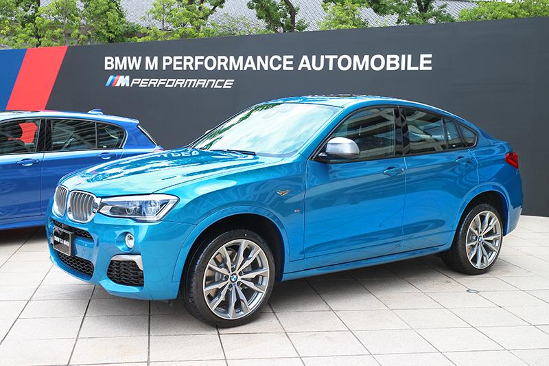 BMW X4 M40i將跨界暴力詮釋得恰到好處。