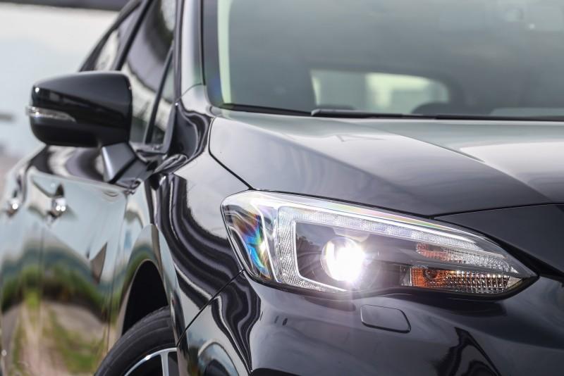 Subaru新世代設計風格在Impreza車身上發揮得更為成熟。