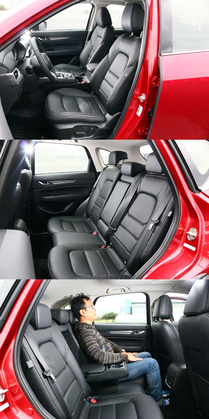Mazda並沒有CX-5沒有特別強調車內空間有多大,而它們向來強調的是給你夠用的空間,而不是大而使用率不高的空間,整個概念與台灣就是要追求極大化很不相同。
