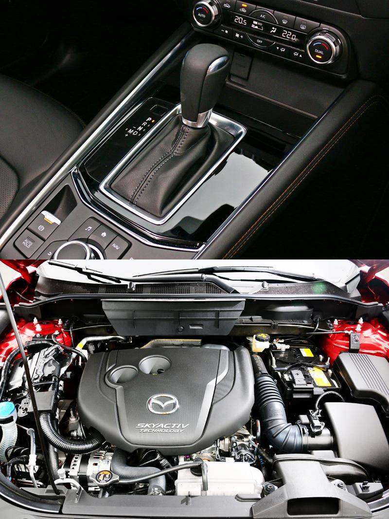 搭載之2.2升柴油動力,可輸出175ps最大馬力與同級車最大的42.8kgm最大扭力,同時搭配了六速手自排變速系統。